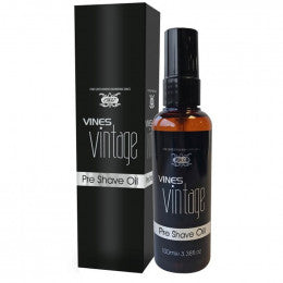 Vines Vintage Pre Shave Oil 100ml - Rootz Hair Products