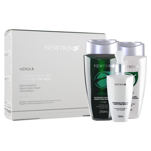 Newtrino Advanced Capillary Densifying Tri-Pack for Men & DNA Men Capsules Combo - Rootz Hair Products