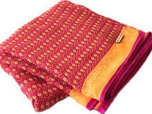 Pink + Yellow Sa.ree Blanket