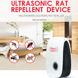 PestReject™ - Ultrasonic Pest Control Pest Repeller - for Mice, Roaches, Flies, Fleas, Ants, Spiders and Mosquitoes
