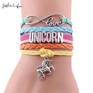 Unicorn Love Rainbow Bracelet