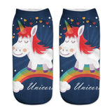 Soft Cotton Unicorn Socks