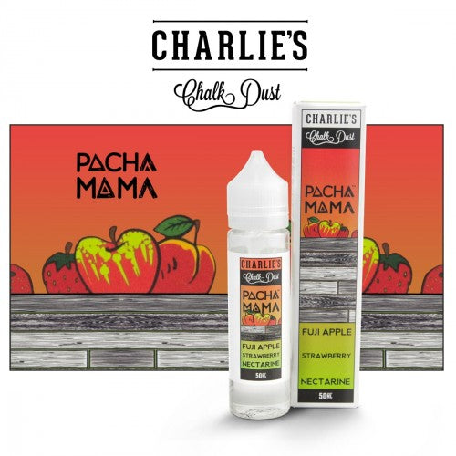 Charlie's CHalk Dust - Fiji Apple Strawberry Nectarine - 60ml