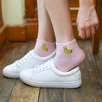 Fruit Over-Ankle Socks