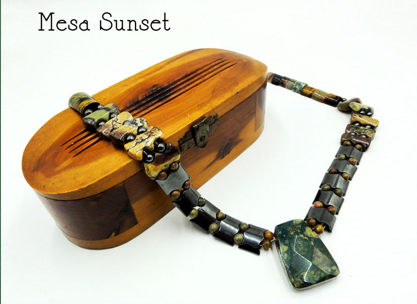 """Mesa Sunset"" Inspired by Oregon's high desert."