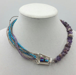 """Zuni Liquid Silver"" Past Works"