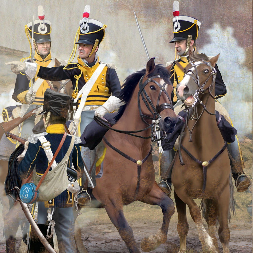 12th LIGHT DRAGOONS, Waterloo 1815