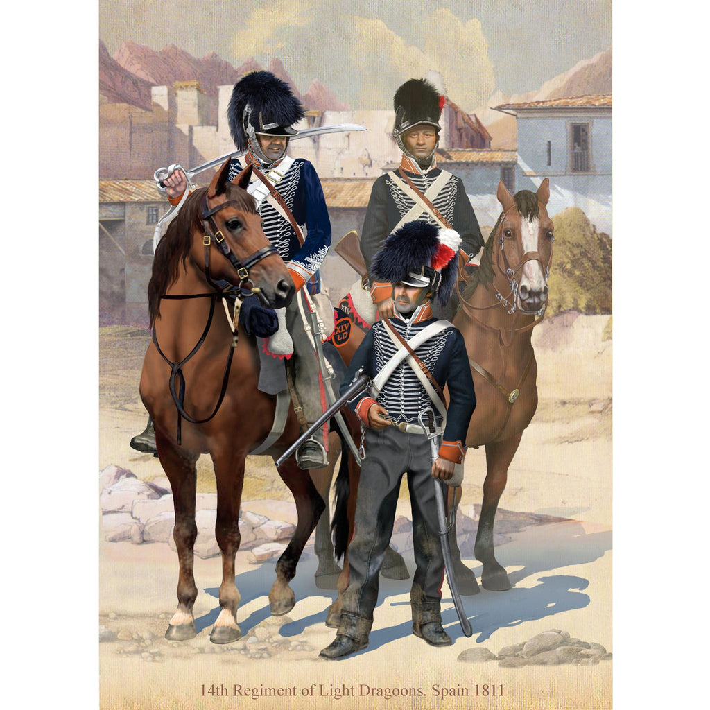 14th LIGHT DRAGOONS, 1815