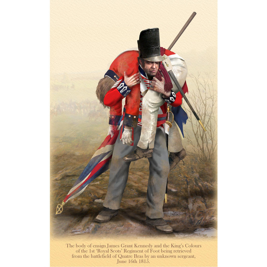 1st 'ROYAL SCOTS' REGIMENT OF FOOT - Ensign James Grant Kennedy