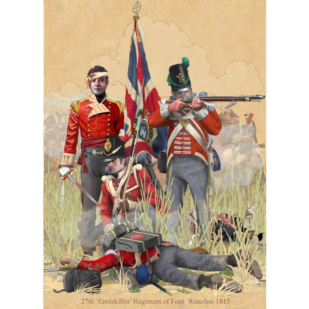 27th INNISKILLIN REGIMENT OF FOOT- Waterloo 1815