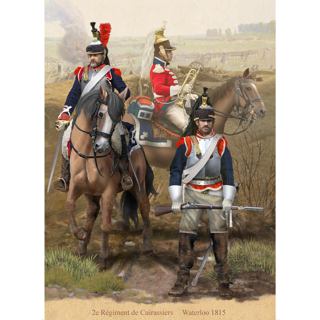 2nd Cuirassier Regiment, 1815