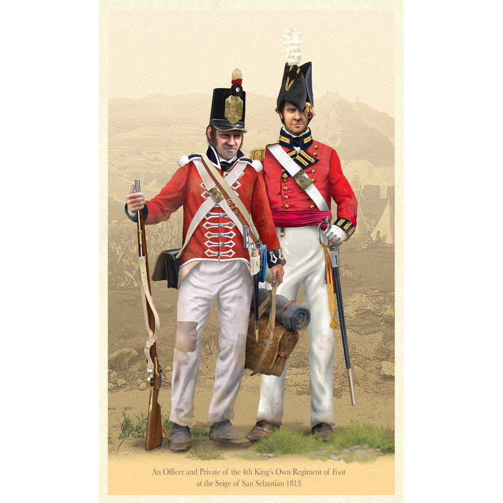 4th KINGS OWN REGIMENT OF FOOT - San Sebastian 1813