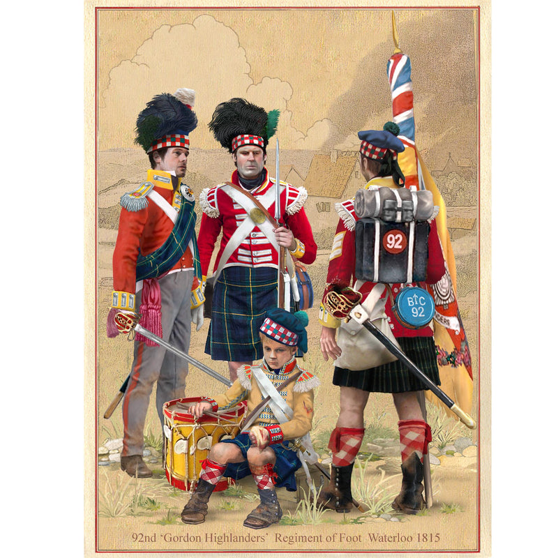 GORDON HIGHLANDERS, Quatre Bras, 16 June 1815
