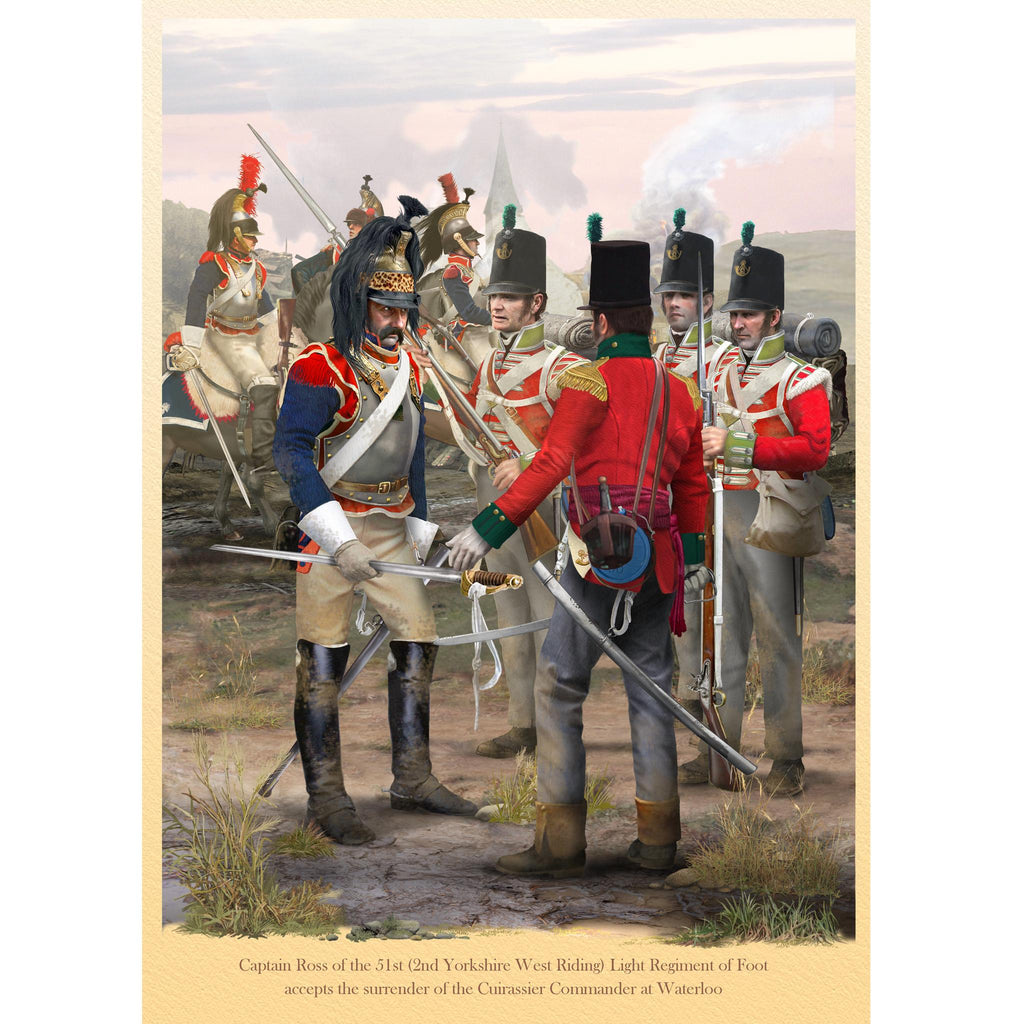 51st (2nd Yorkshire West Riding) Light Regiment of Foot at Waterloo