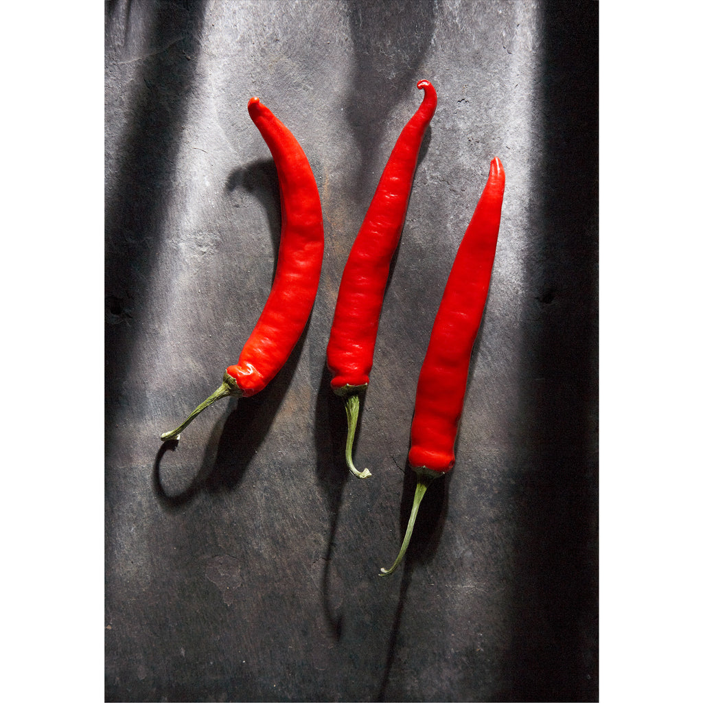 Jalapeno Chilis on Cumberland Slate