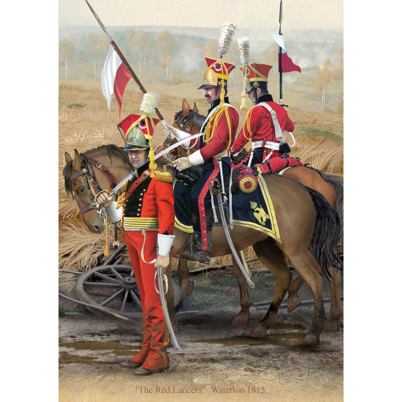 RED LANCERS, Waterloo 1815