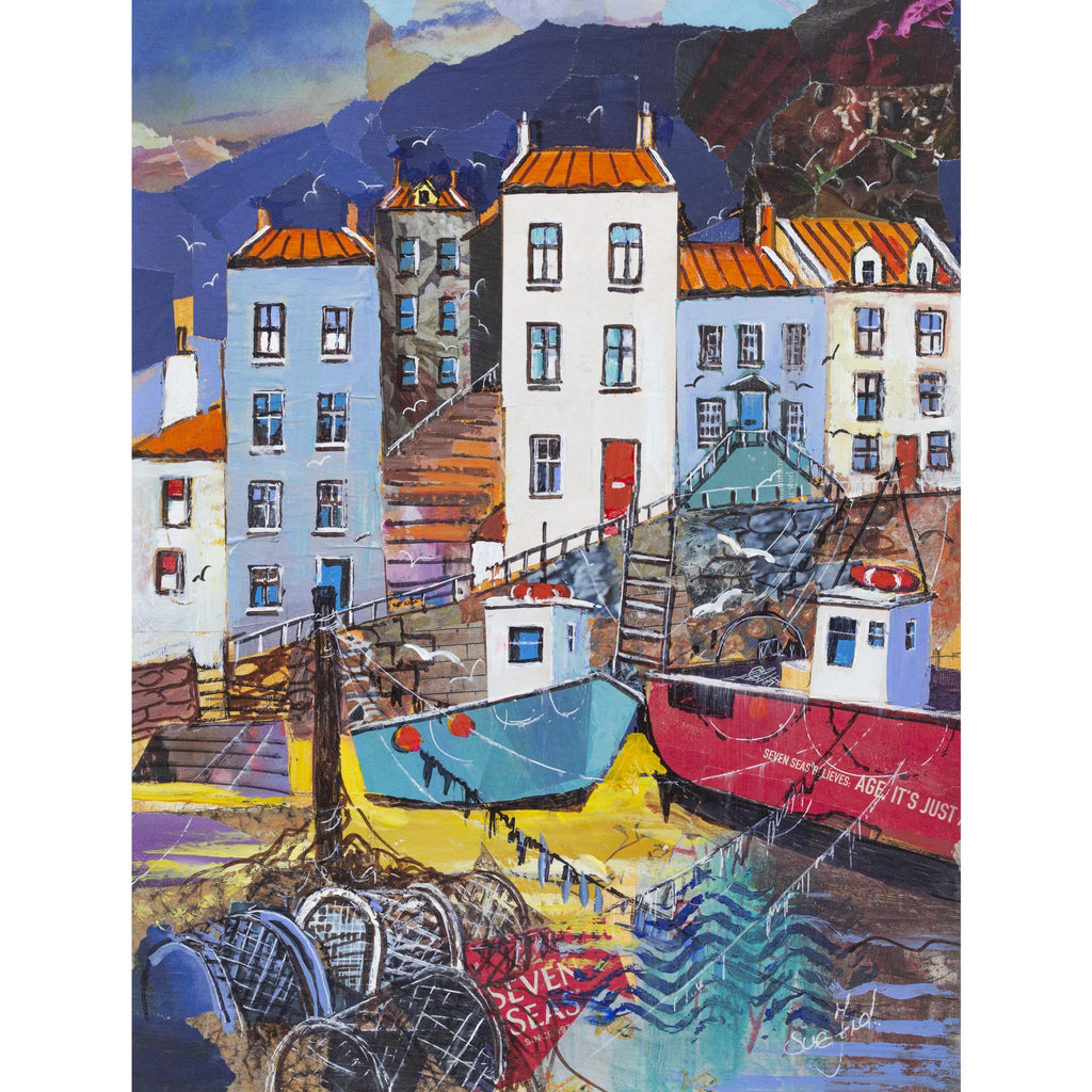 Staithes - Waiting for the Tide