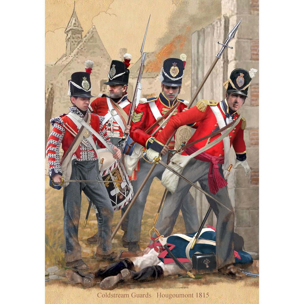COLDSTREAM GUARDS - Hougoumont, nr. Waterloo 1815