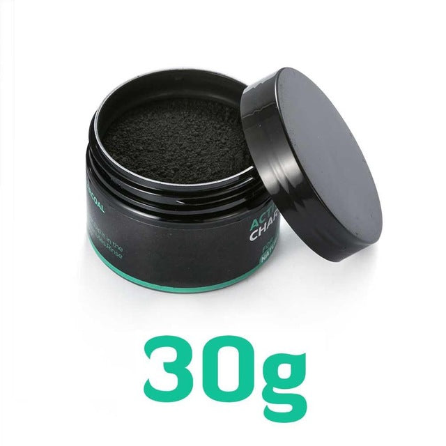 Natural Teeth Whitening Vaclav 30g 60g - Activated Coconut Charcoal