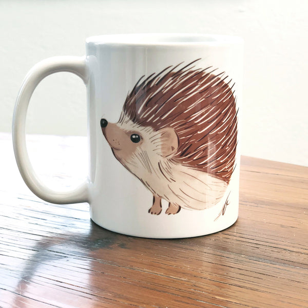Hedgehog Coffee Mug 11 Oz