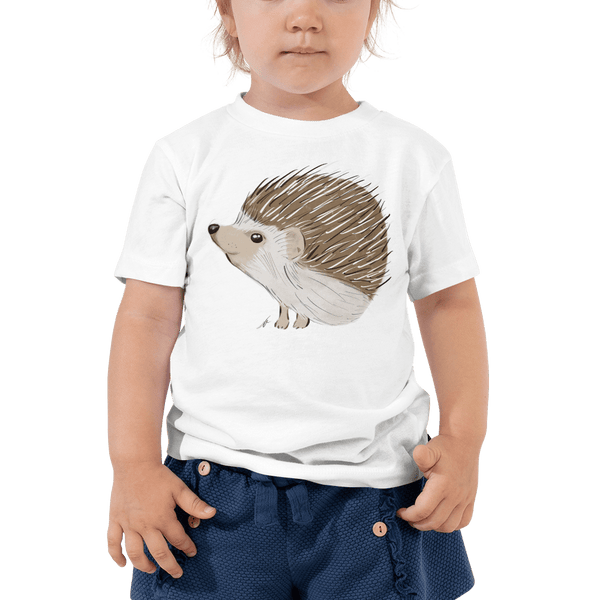Hedgehog Toddler Short Sleeve Tee 2T-5T