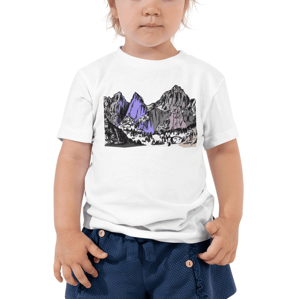 Mountains Mt Whitney Toddler Short Sleeve Tee 2T-5T