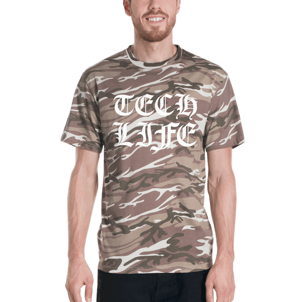 Tech Life Short-sleeved camouflage t-shirt