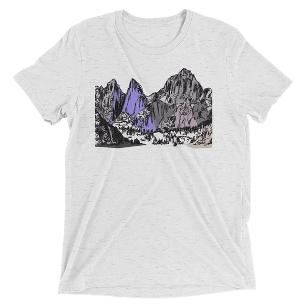 Mountains Mt Whitney Short sleeve t-shirt