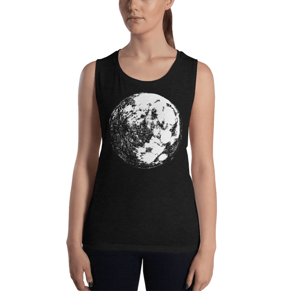 Moon Ladies' Muscle Tank