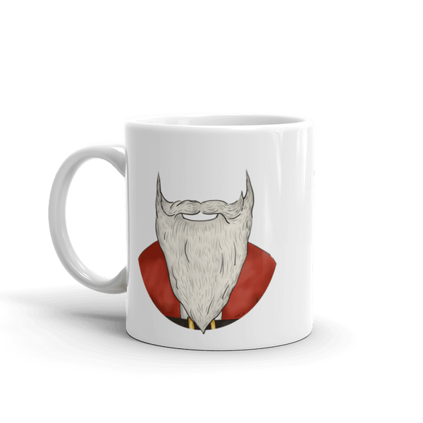 Santa Beard Coffee Mug 11 Oz