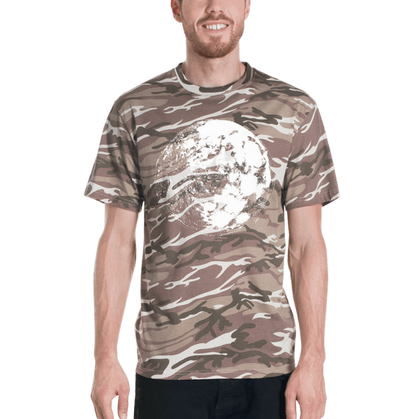 Moon Short-sleeved camouflage t-shirt