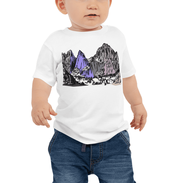 Mountains Mt Whitney Baby Jersey Short Sleeve Tee 6M-24M