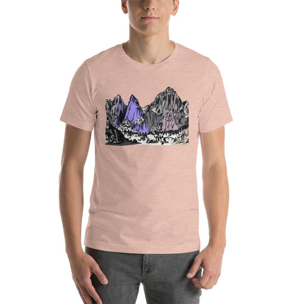 Mountains Mt Whitney Short-Sleeve Unisex T-Shirt