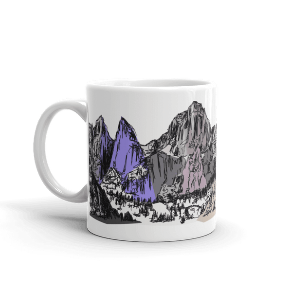 Mountains Mt Whitney Coffee Mug 11 Oz