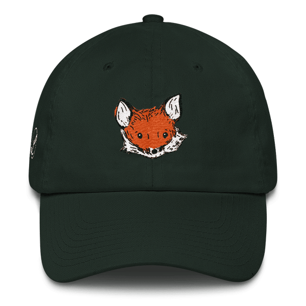 Fox Dad Hat Cotton Cap