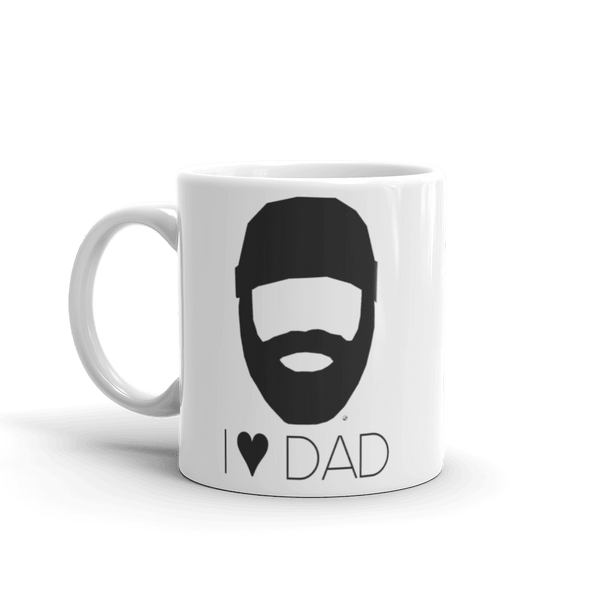 I Heart Dad Coffee Mug 11 Oz