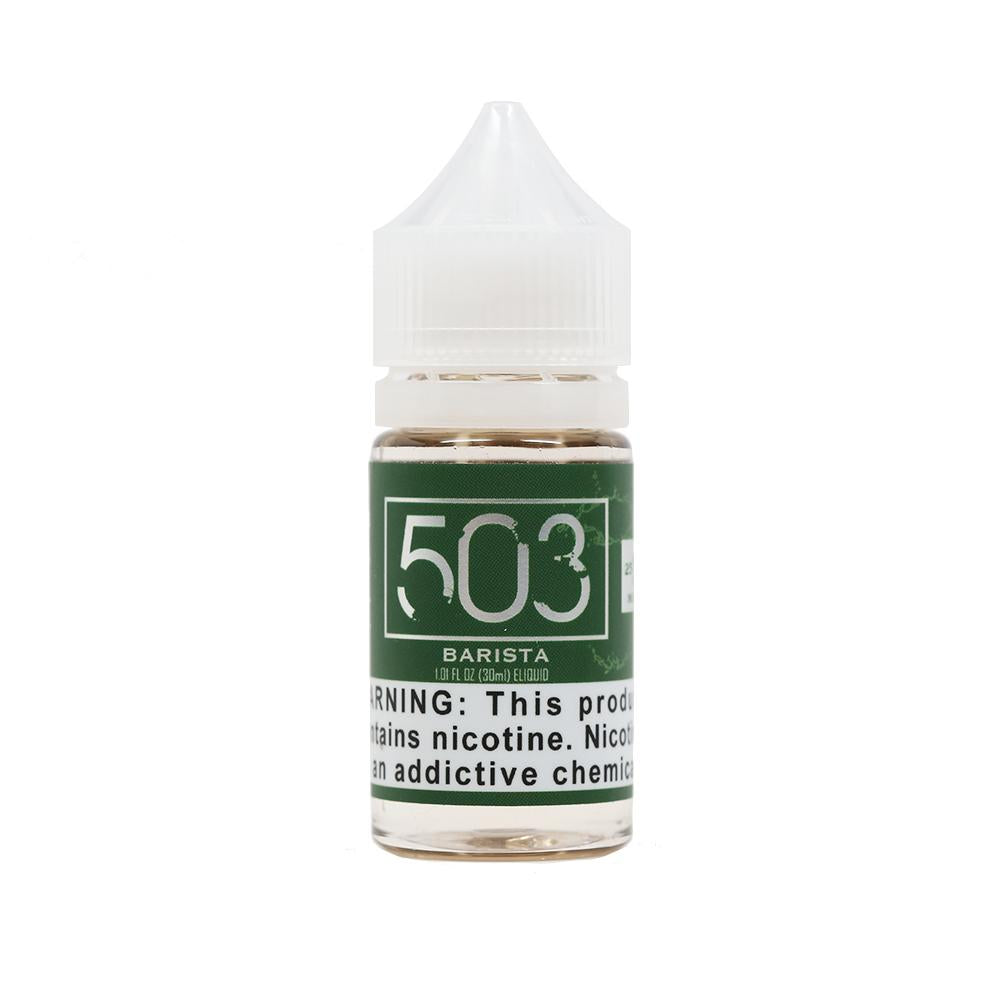 Barista Salt Nicotine Vape Juice by 503 e-Liquid (30ml)
