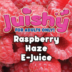 Raspberry Haze E-Liquid by Juishy E-Juice (100ml)