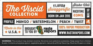 Swaggerific E-Liquid by Rasta Vapors (Mango Watermelon Peach Twist)