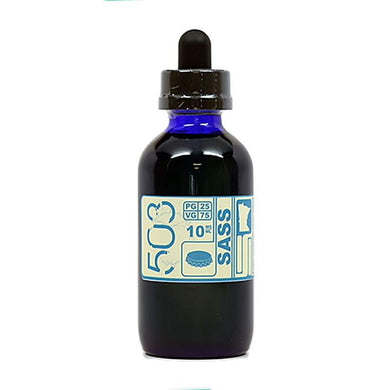 Sass High VG - Sarsaparilla Root Beer E-Juice by 503 e-Liquid (120ml)