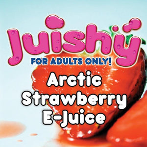 Arctic Strawberry E-Liquid by Juishy E-Juice