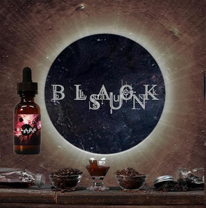 Black Sun E-Liquid - Maple Tobacco Caramel Coffee Vape Juice (30ml)