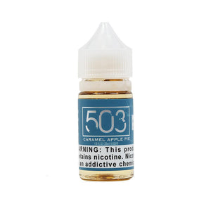 Caramel Apple Salt Nicotine Vape Juice by 503 eLiquid (NicSalts)
