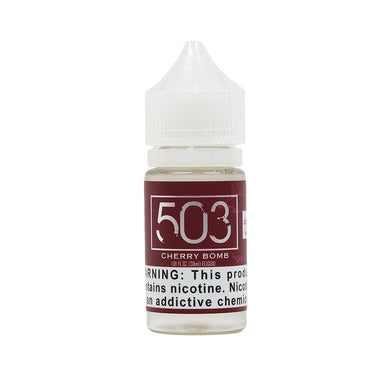 Cherry Bomb Salt Nicotine Vape Juice by 503 eLiquid (30ml)