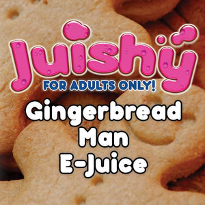 Gingerbread Man E-Liquid by Juishy E-Juice (100ml)