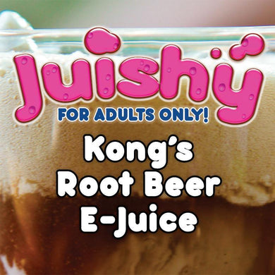Kong's Root Beer E-Liquid by Juishy E-Juice (100ml)