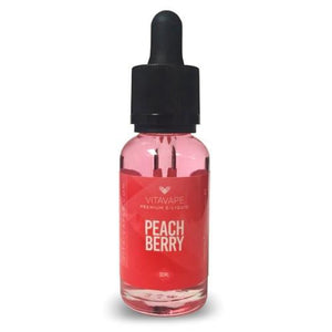 Peach Berry (Peach Strawberry) E-Liquid by Vita Vape (Vitamin B12)