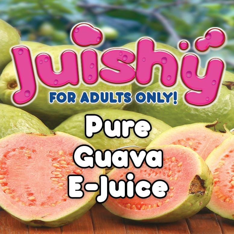 Pure Guava E-Liquid by Juishy E-Juice (100ml)