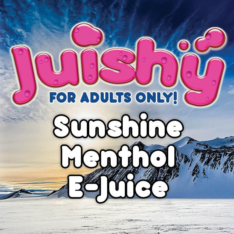 Sunshine Menthol E-Liquid by Juishy E-Juice