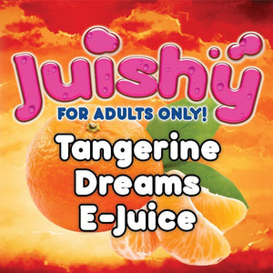 Tangerine Steam E-Liquid by Juishy E-Juice (100ml)
